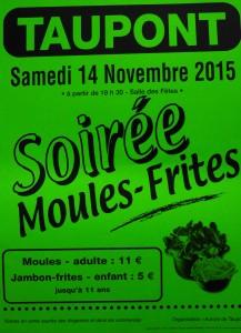 Soirée Moules-Frites